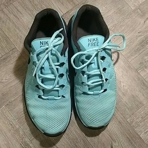 Nike trainers Free 3.0 baby blue  size 9 sneakers